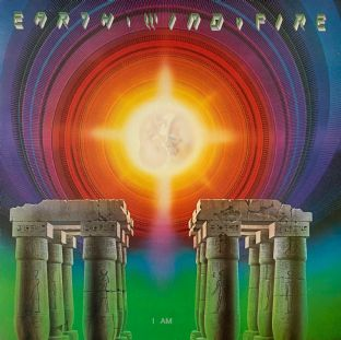 Earth, Wind & Fire ‎- I Am (LP) (G-VG/VG-)